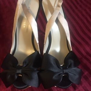 Shoes by Karen Miller in black and brown